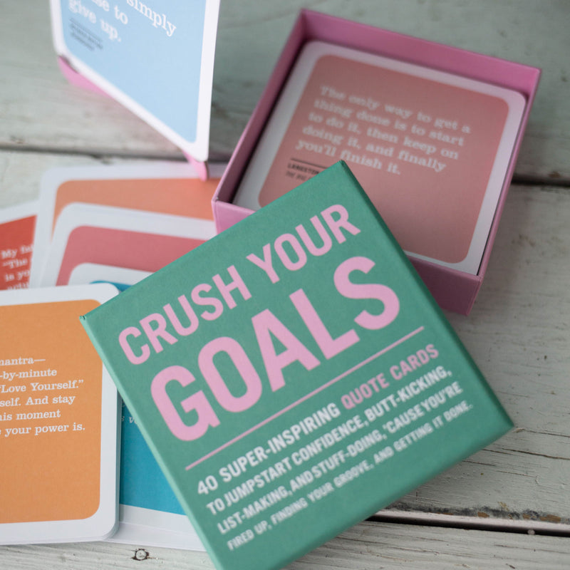 Crush Your Goals Inner-Truth Deck