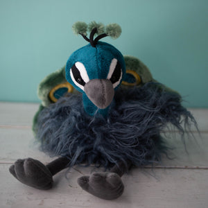Periwinkle Peacock Plushie