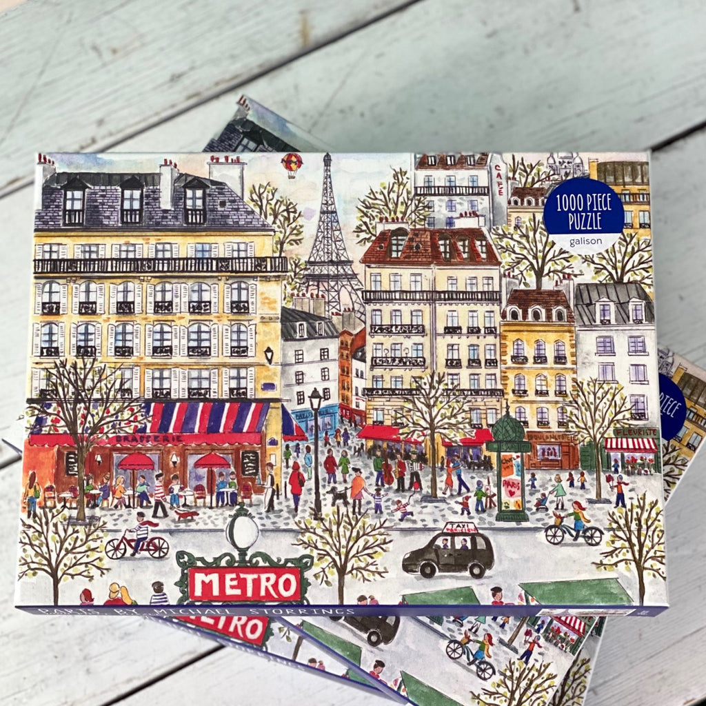 Paris in Winter Puzzle