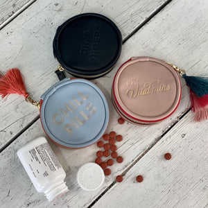 Pill Box with Tassel