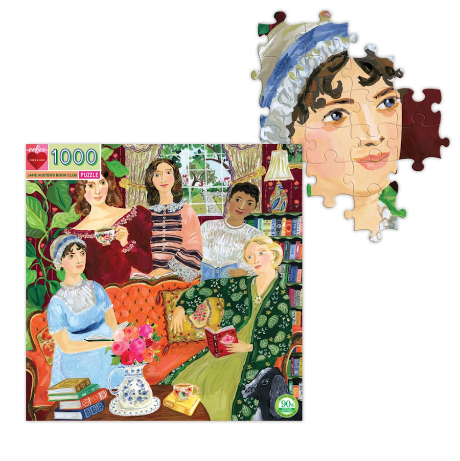 Jane Austen's Book Club Puzzle - PRE ORDER APRIL 10TH SHIP