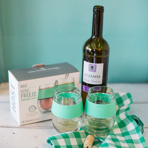 Chill wine glass set