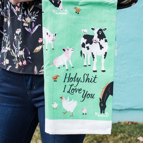 Holy S%*t I Love You Dishtowel
