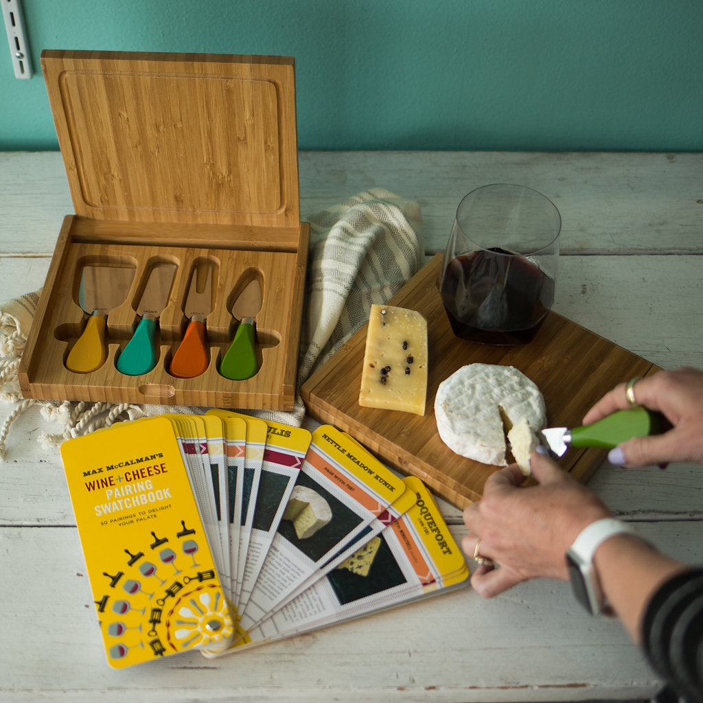 Max MacCalman's Wine and Cheese Pairing Swatchbook
