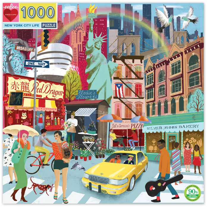 New York City Life Puzzle - PRE-ORDER FOR APRIL 10th Delivery