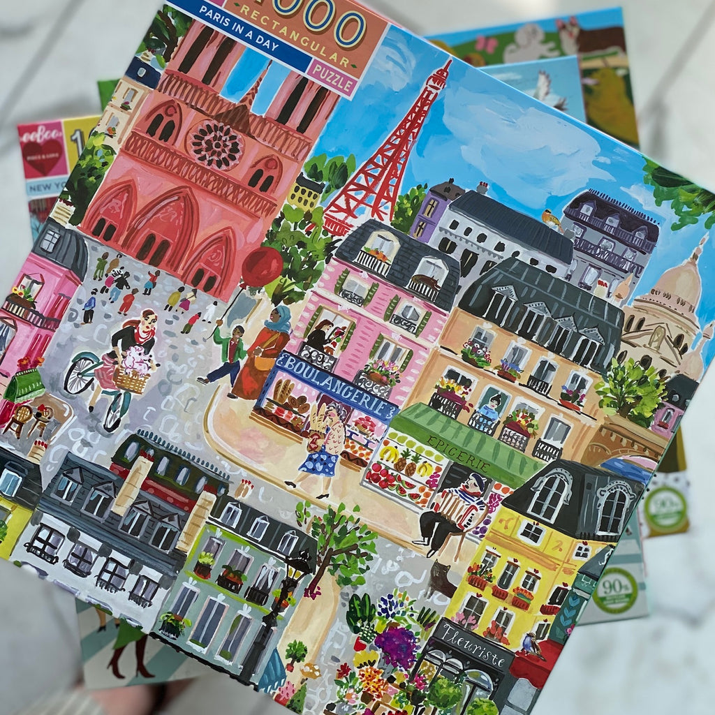 Paris in a Day Puzzle - PRE-ORDER FOR APRIL 10th DELIVERY