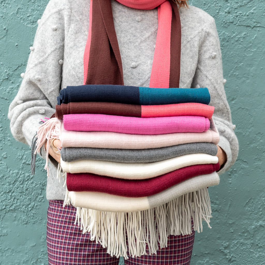 Milk Muffler Solid Scarves