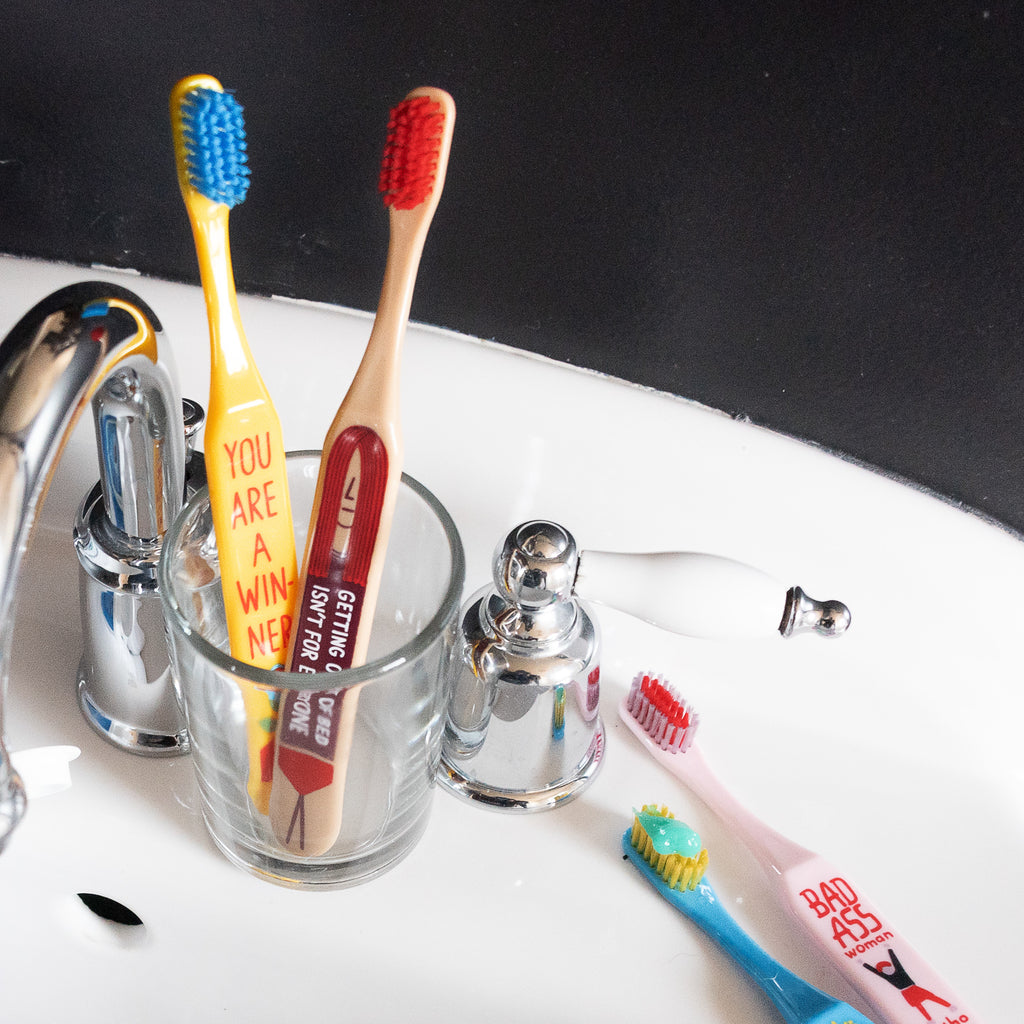 Wide-handle Toothbrushes