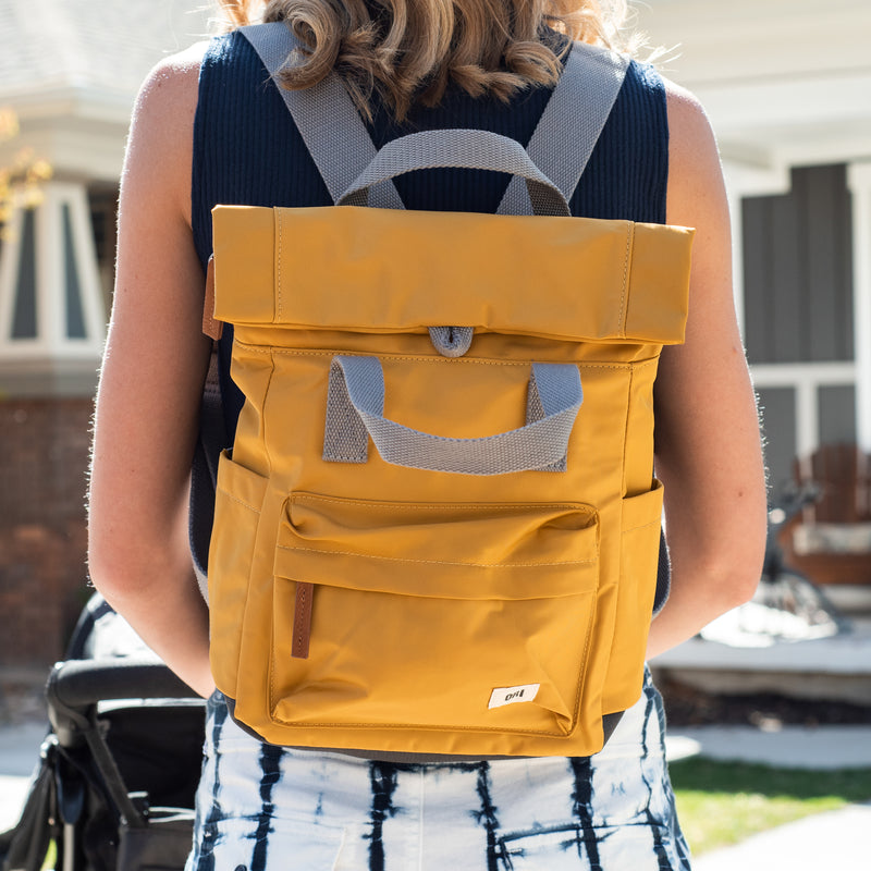Canfield Small Mustard Backpack