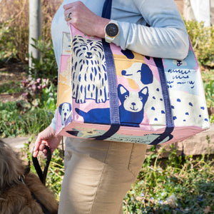 Happy Dogs Tote