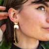 Bryce Half Moon Dangle Earrings