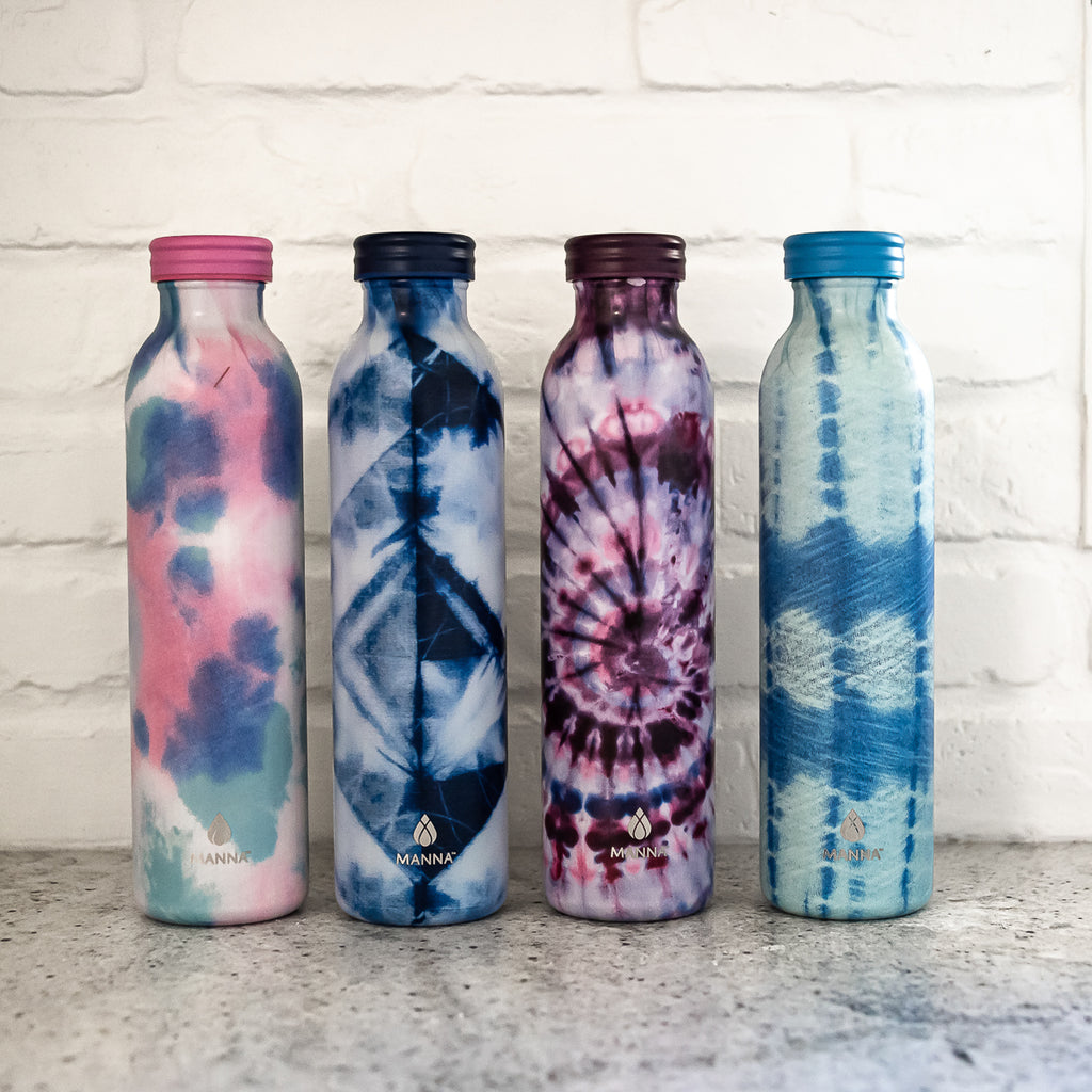 Tie-Dye Retro Water Bottle