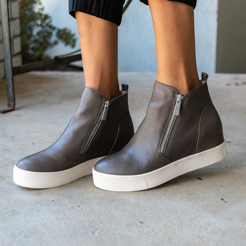 Hidden Wedge Grey Skies Bootie