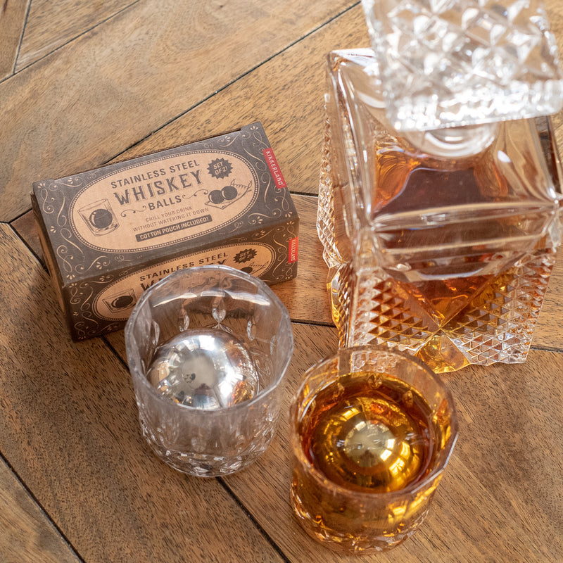 Steel Whiskey Balls