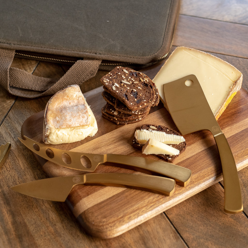 Monterey 7-Piece Travel Cheese Knife Set