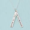 "Joan of Arc - ""I am not afraid"" Necklace"