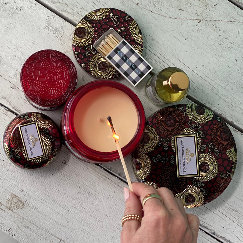 Goji Tarocco Orange Candle Collection