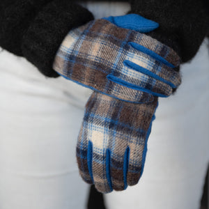 Heritage Plaid Tech Gloves