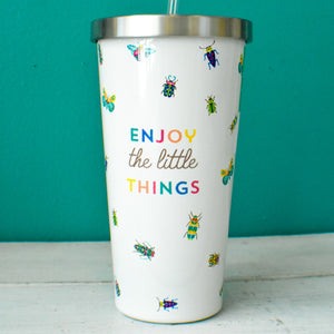 Enjoy the Little Things Tumbler