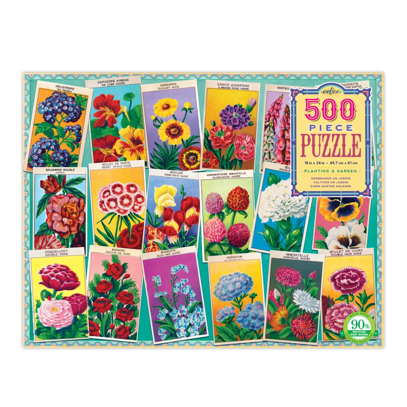 Planting a Garden Puzzle - PRE-ORDER FOR APRIL 10th DELIVERY