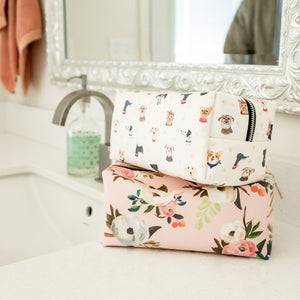 Doggone Cute Cosmetic Bag