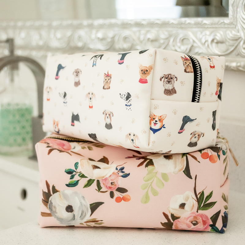 Doggone Cute Cosmetic Bag Set