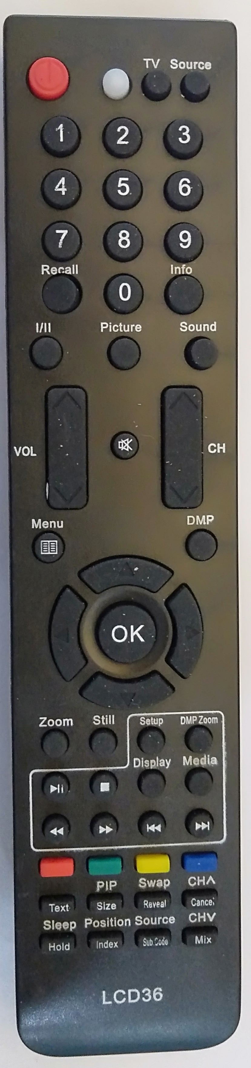 LLYOD  LCD TV  Universal Remote Controller  (LD40)