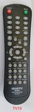 Aki Universal TV Remote Control 4 in 1 (TV10)