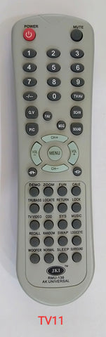 Aki Universal TV Remote Control RMU-136 (TV11)