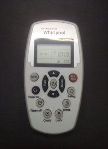 Whirlpool 6th sense Aircondition Remote