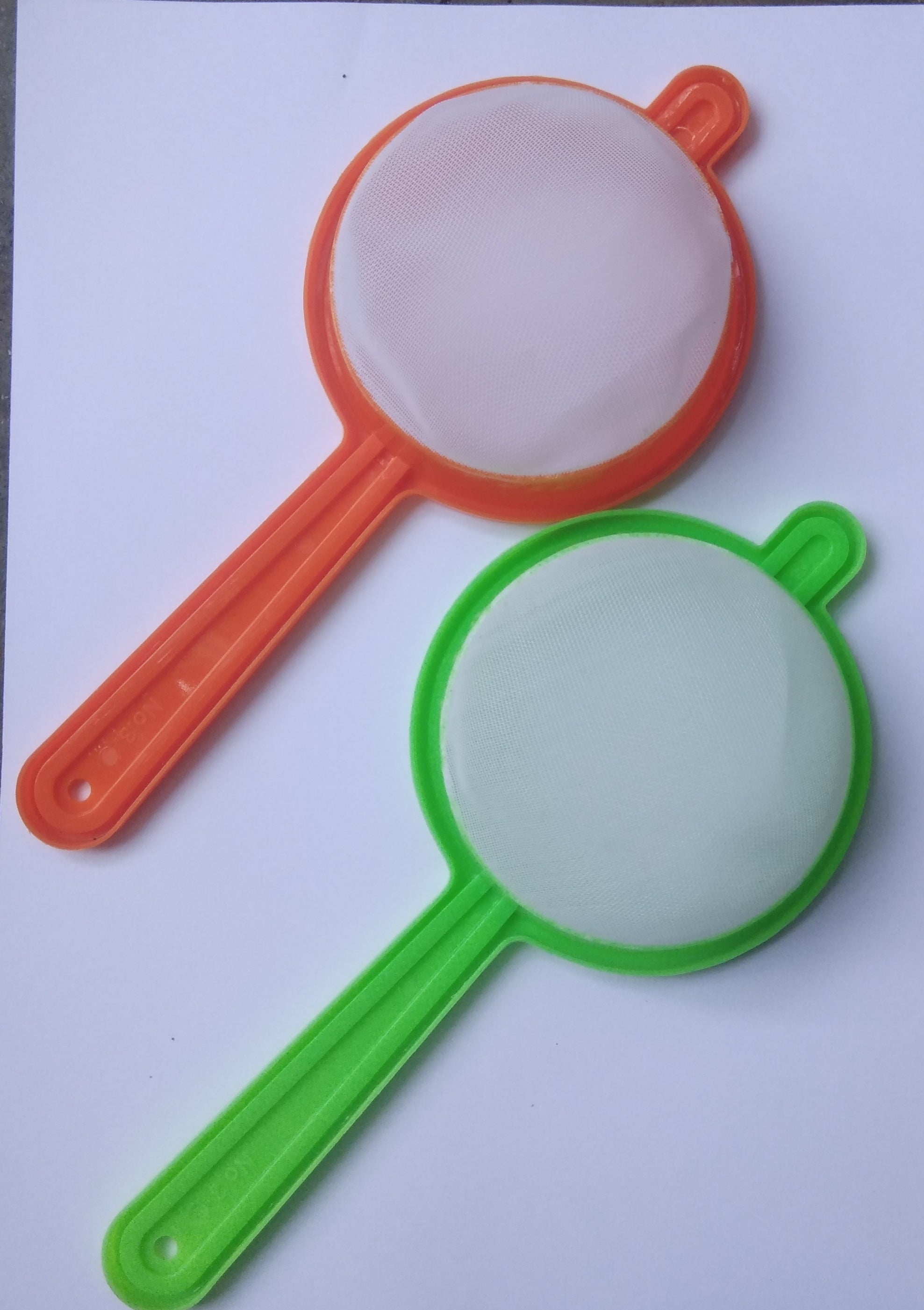 2 Pcs Plastic Tea Filter