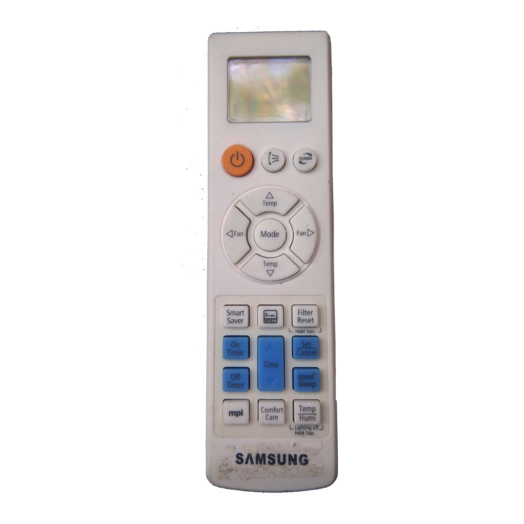 Samsung  Air condition Remote Control 104*