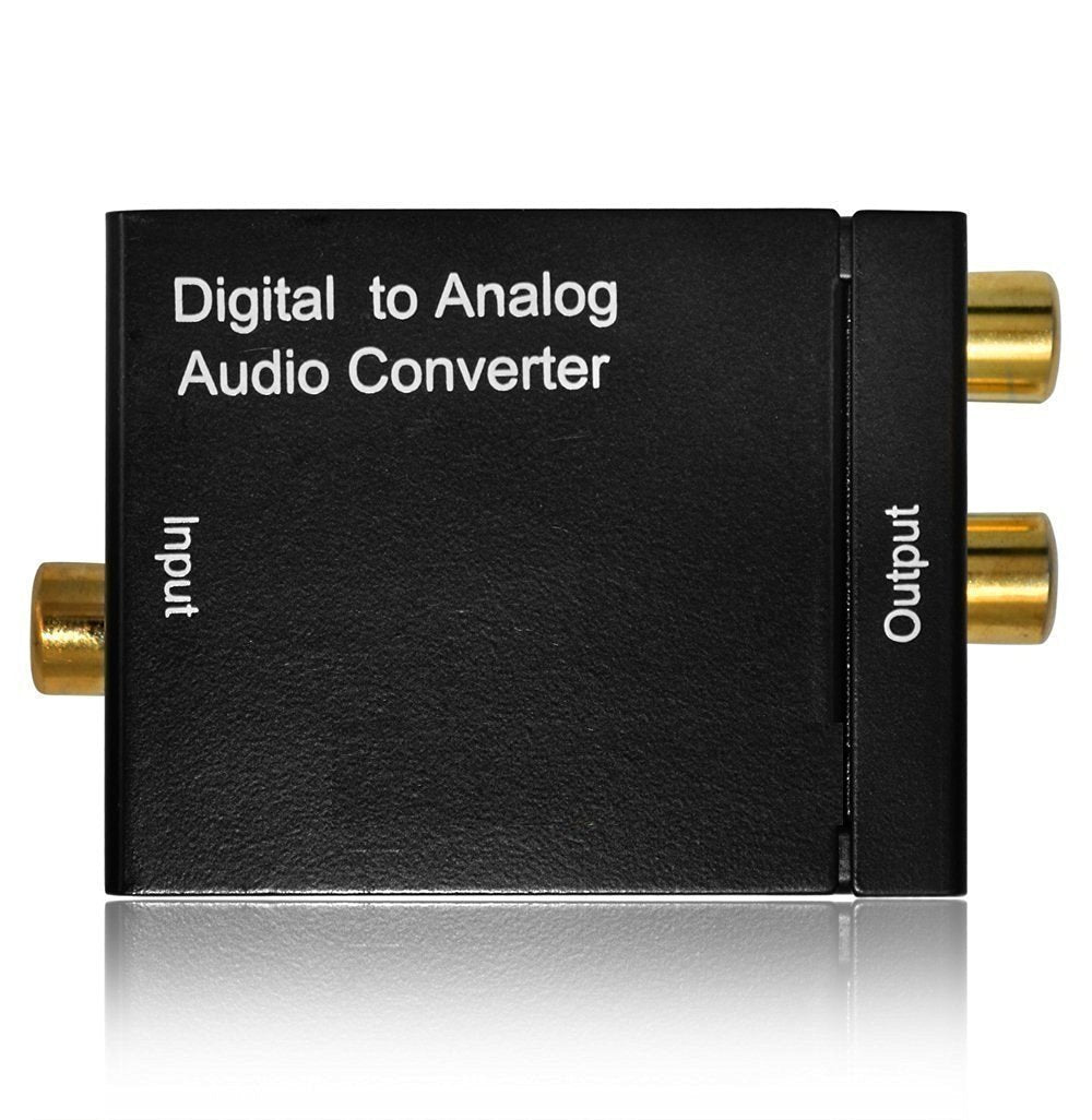 Digital to Analog Audio Convertor Optical Input and RCA Output