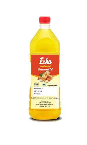 Esa Cold Pressed Groundnut Oil 1000 ml