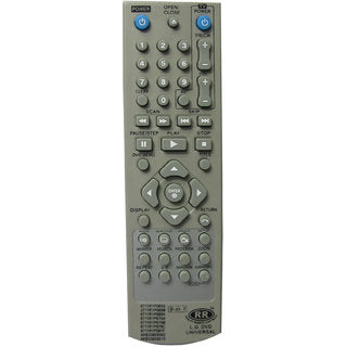 LG Dvd player  universal remote controller