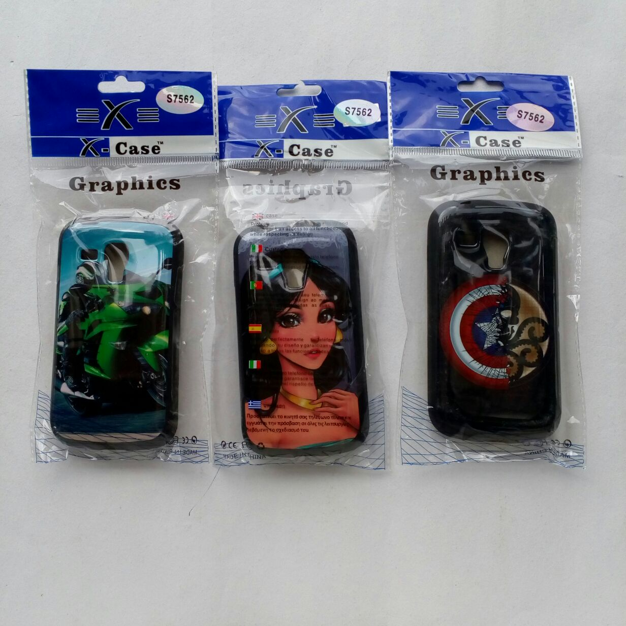 Samsung Core S7562 Multi Colour Back Cover