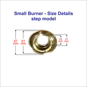 4 nos Gas stove Burner suitable for Pigeon Gas Stove 2S2M