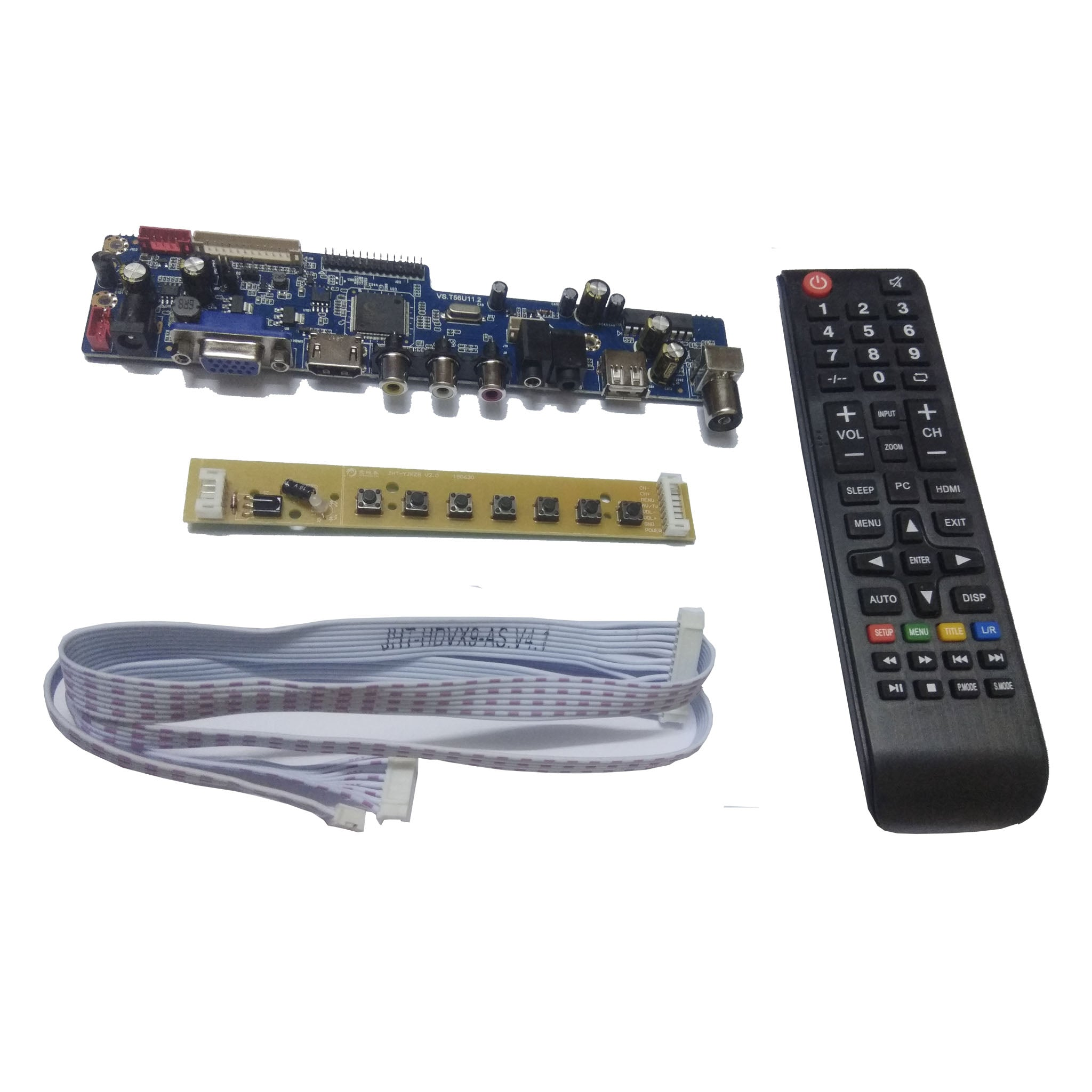 LCD/LED Tv Main Board, Support USB Multimedia Playback, U Disk Updating Support 14 inch  to 32 inch