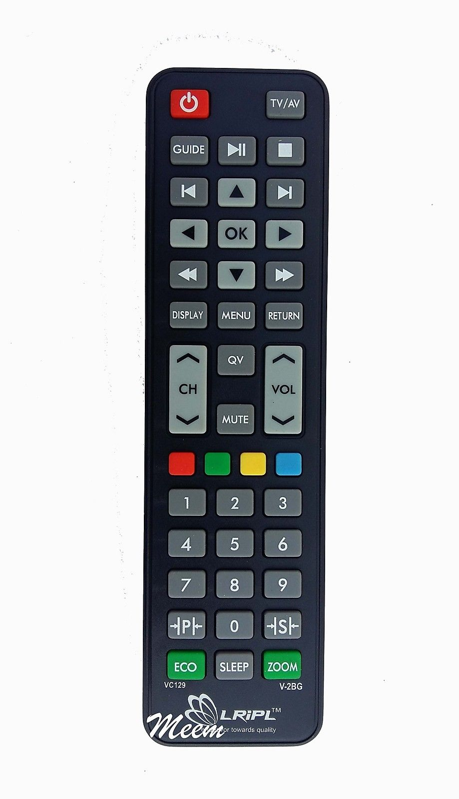VIDEOCON LCD LED TV UNIVERSAL REMOTE CONTROL * Compatible*High Sensitivity (LD34)