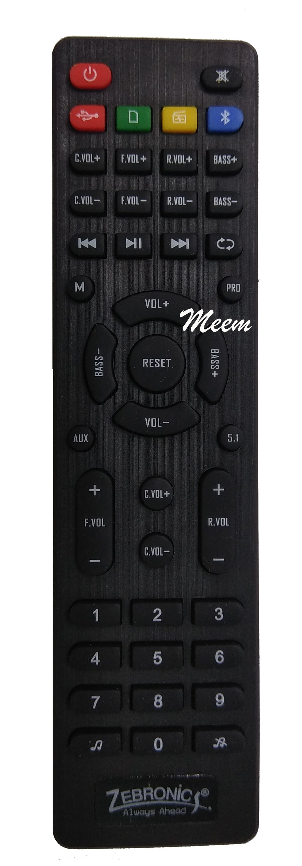 Zebronics LCD Remote Control * Compatible*High Sensitivity (LD45)