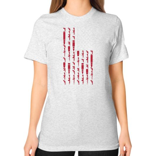 Order The Right To Bear Arts Unisex On Woman T Shirt