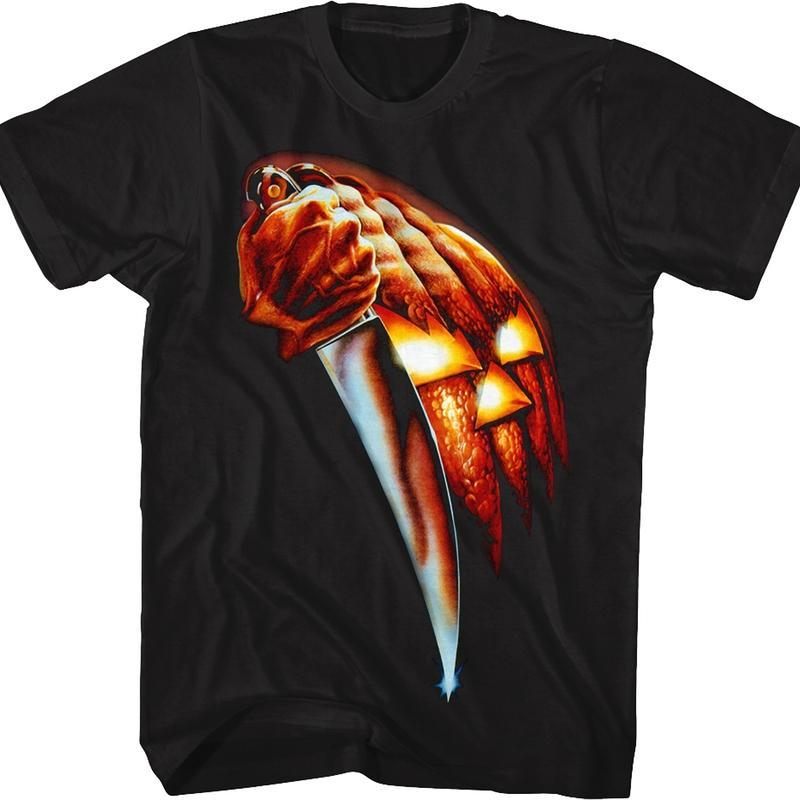 Discover Cool Theatrical Poster Halloween T Shirt