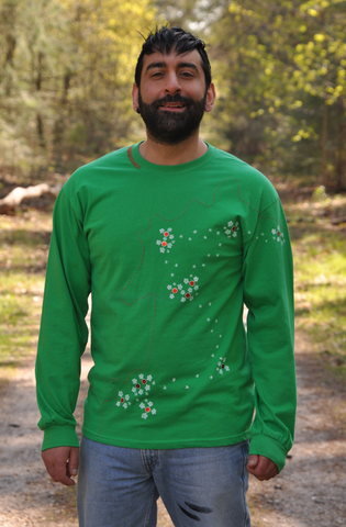 Thin cotton long sleeve.
