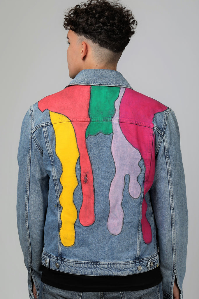 Melted Denim jacket.