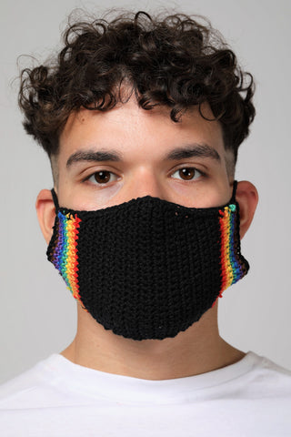 Knitted Mask.