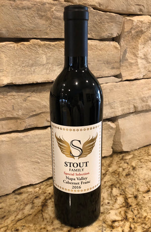"Stout Family Napa Valley 2016 Cabernet Franc ""Special Select"""