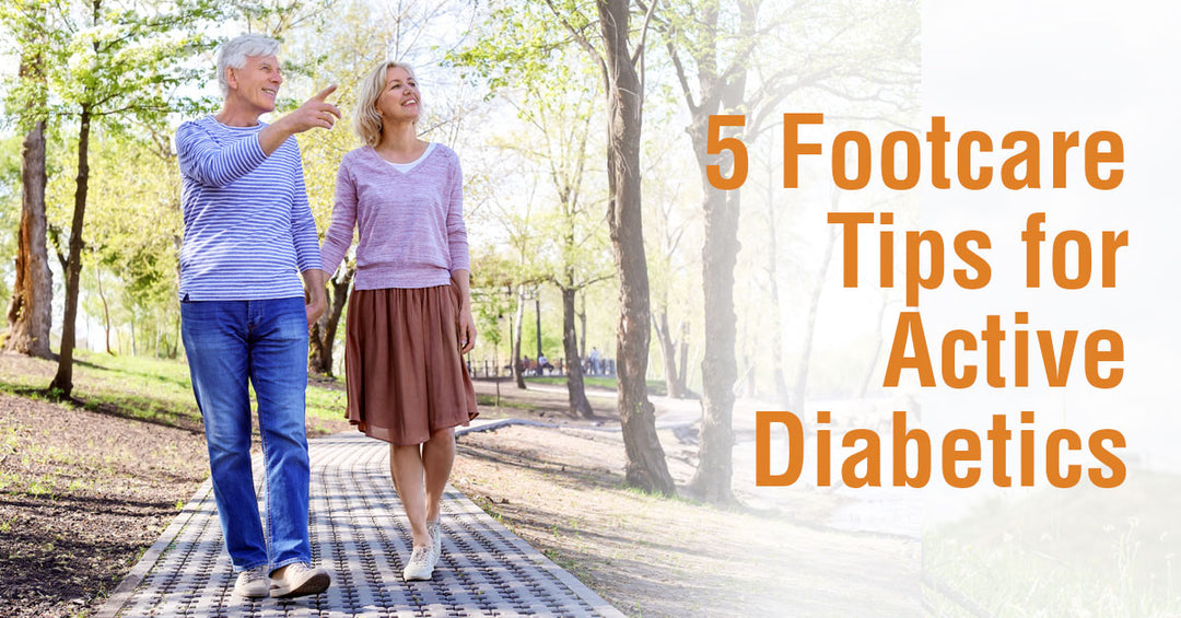 5 Footcare Tips for Active Diabetics