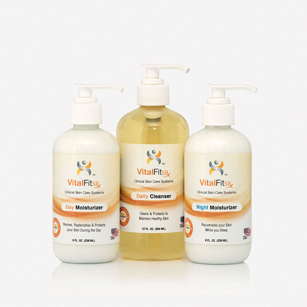 VF-DN: 3 Piece VitalKit™ Skin Care System - Moist </p>(for Diabetics and Limb Loss)