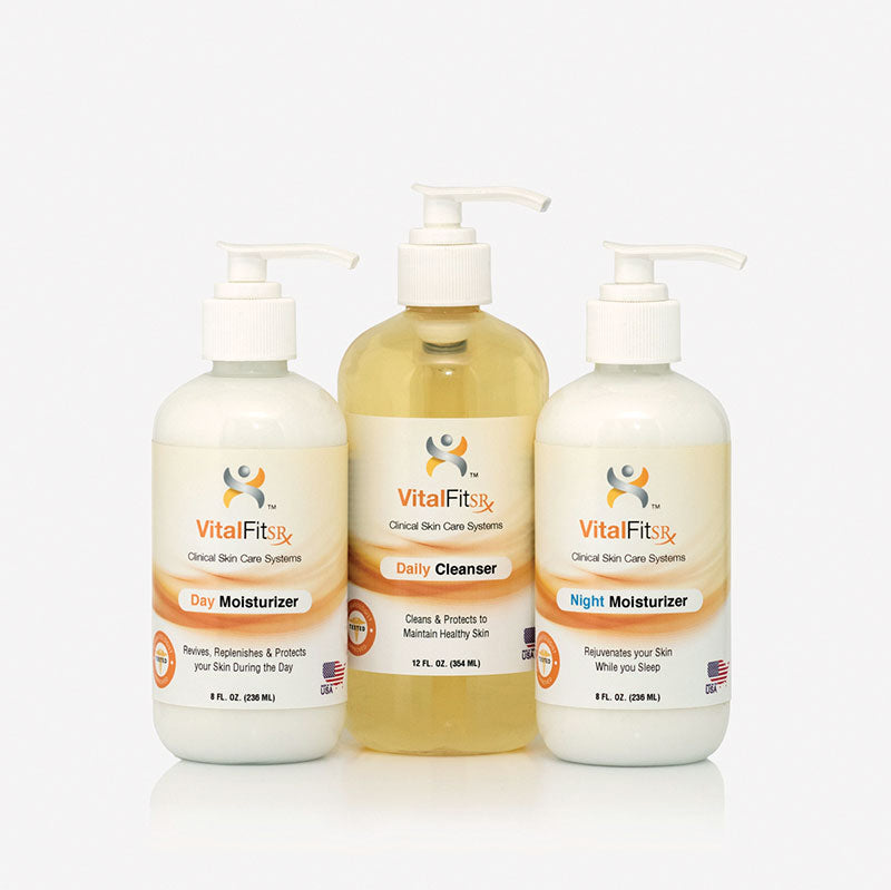 VF-DN: 3 Piece Skin Care System - Moist </p>(for Diabetics and Limb Loss)