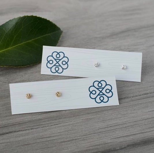 Knot Earrings- 3 colours